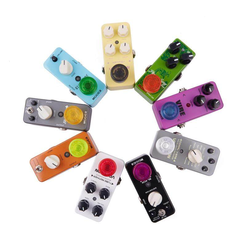 Mooer Candy Footswitch Topper Random Color Mix Colorful Plastic Bumpers Effect Pedal Protector FT-MX 10 pcs Malaysia