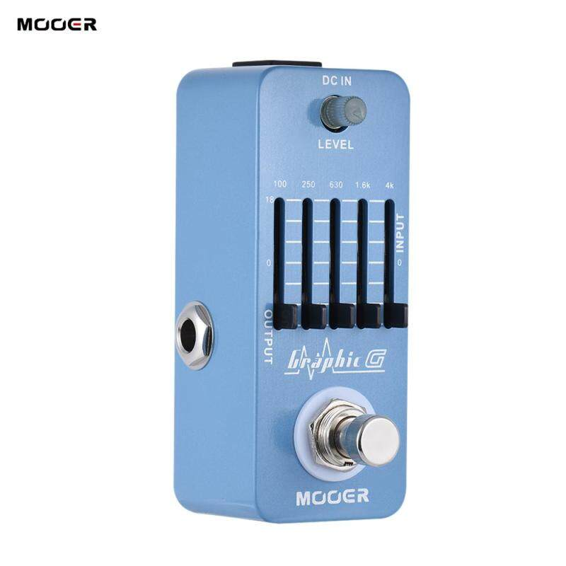 MOOER Graphic G Mini Guitar Equalizer Effect Pedal 5-Band EQ True Bypass Full Metal Shell Malaysia