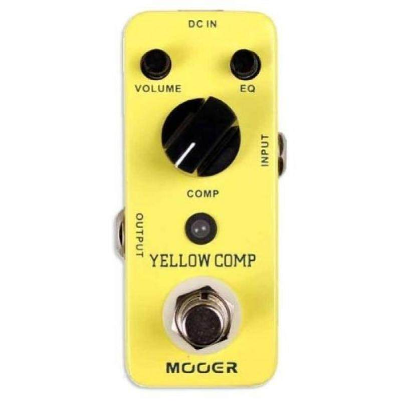 Mooer MCS2 Yellow Compression Effects Pedal Malaysia