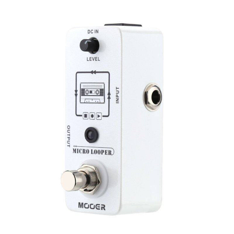 Mooer Micro looper Mini Loop recording Effect Pedal for Electric Guitar True Bypass Malaysia