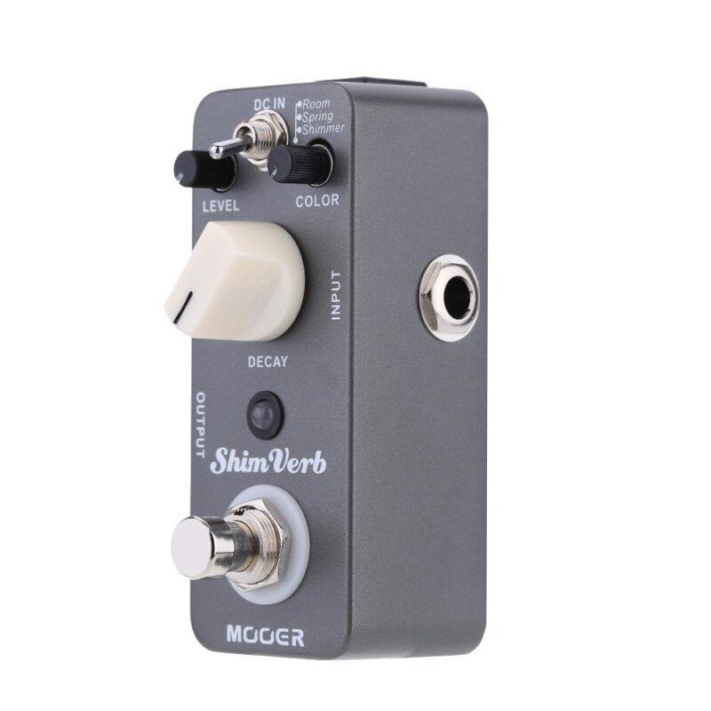 Mooer Shim Verb Micro Mini Digital Reverb Effect Pedal for Electric Guitar True Bypass Malaysia