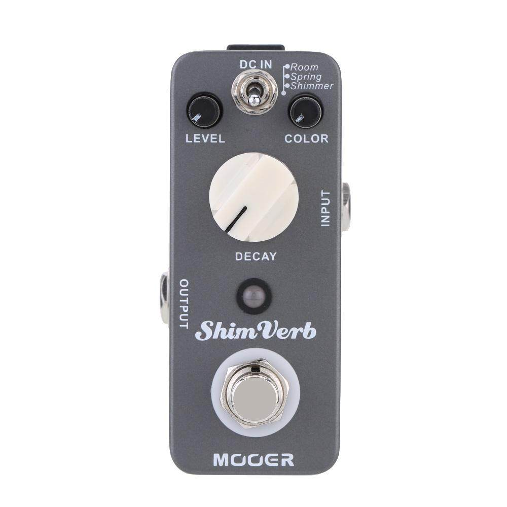 Mooer Shim Verb Micro Mini Digital Reverb Effect Pedal for Electric Guitar True Bypass - intl