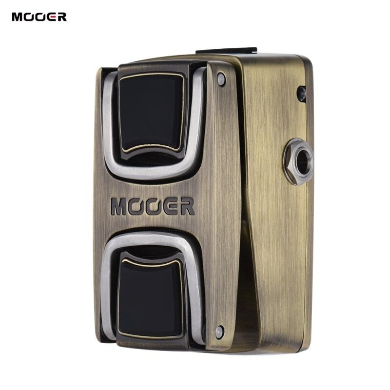 MOOER The Wahter Wah Guitar Effect Pedal Pressure Sensing Switch Full Metal Shell Malaysia