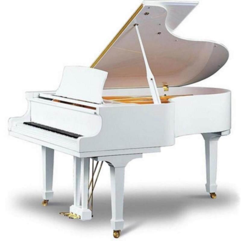 New Kayserburg Grand Piano GH148 (White color + Piano Disc) Malaysia