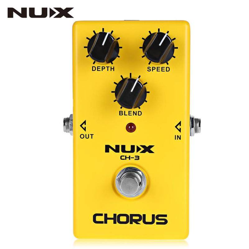 NUX CH - 3 Chorus Guitar Effect Pedal True Bypass Design Aluminum Alloy Housing Malaysia