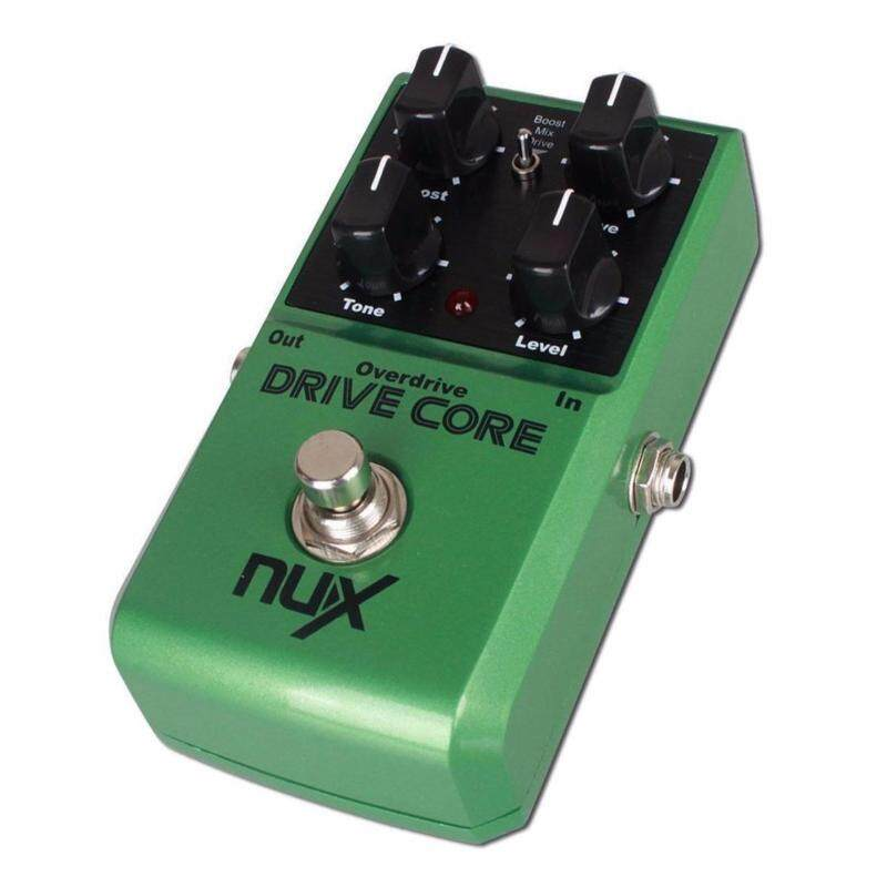 NUX Drive Core Overdrive Classical Electronic Pedal Guitar Effect Pedal Mixture of Boost Overdrive Sound True Bypass Guitar Effects for Electronic Guitar and Bass Malaysia
