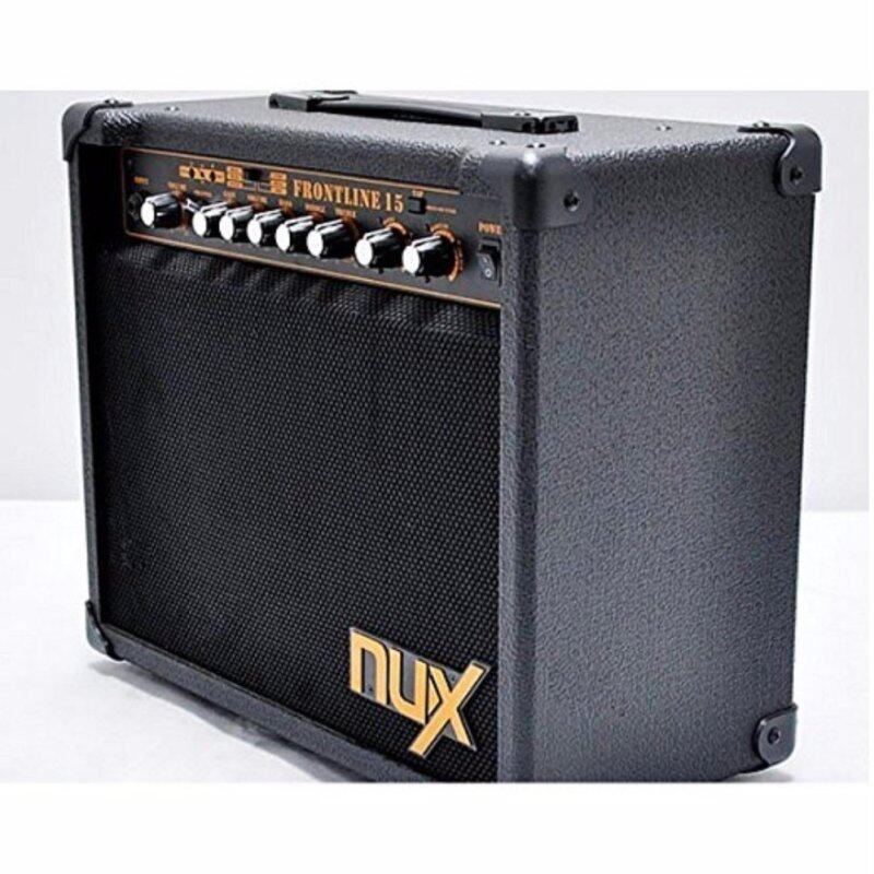 NUX Frontline 15 Electric Guitar Amplifier 15-Watt Clean and Distortion Malaysia