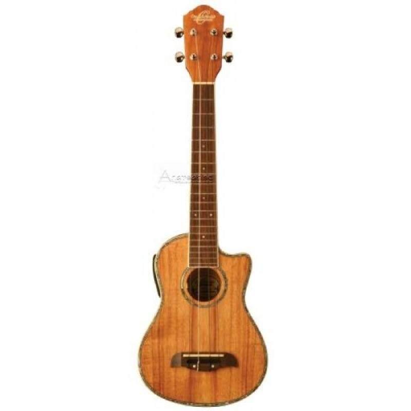 Oscar Schmidt by Washburn OU5LCE Long Neck Concert Acoustic-Electric Ukulele Malaysia