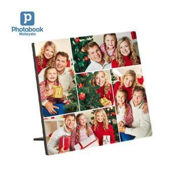 "Photobook Malaysia 6\"" x 6\"" Desktop Plaque"