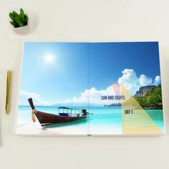 "Photobook Malaysia 8"" x 11\"" Medium Portrait Imagewrap Lay Flat Photo Book- 22+2 Pages"