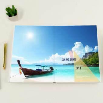 "Photobook Malaysia 8\"" x 11\"" Medium Portrait Imagewrap Lay Flat Photo Book- 22+2 Pages"