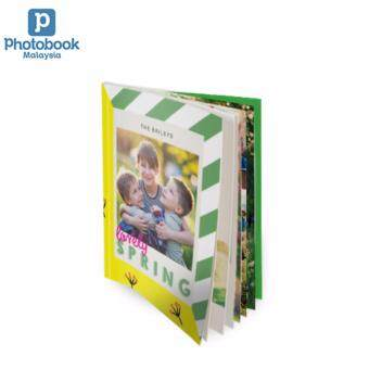 "Photobook Malaysia 8"" x 11\"" Medium Portrait Softcover Photo Book, 40 Pages"