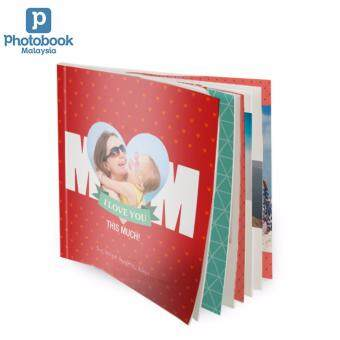 "Photobook Malaysia 8"" x 8\"" Small Square Softcover Photo Book, 40 Pages"