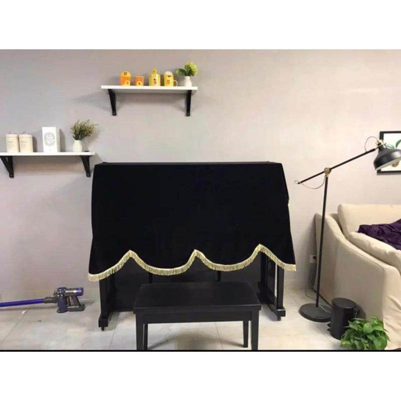 Piano Long Cover (Black) Malaysia
