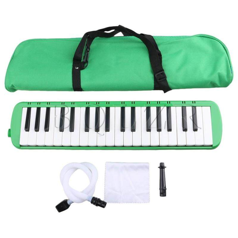 Portable 37 Note Piano Keys Melodica w/ Carrying Case Green Malaysia