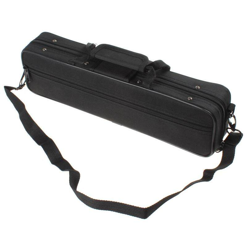 Portable & Lightweight Black Cloth Flute Case Box with Shoulder Strap Malaysia