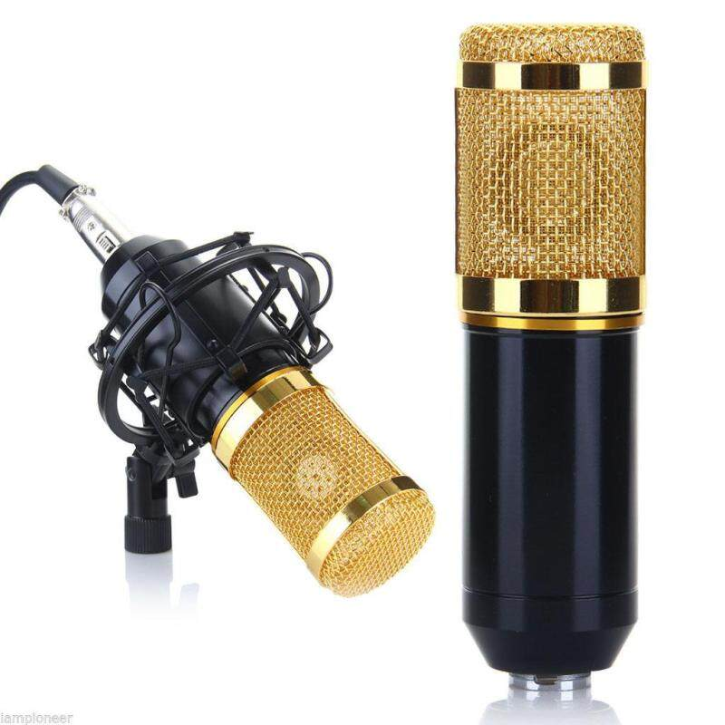 Pro Audio BM800 Condenser Studio Sound Record Microphone DJ Mic + Shock Mount