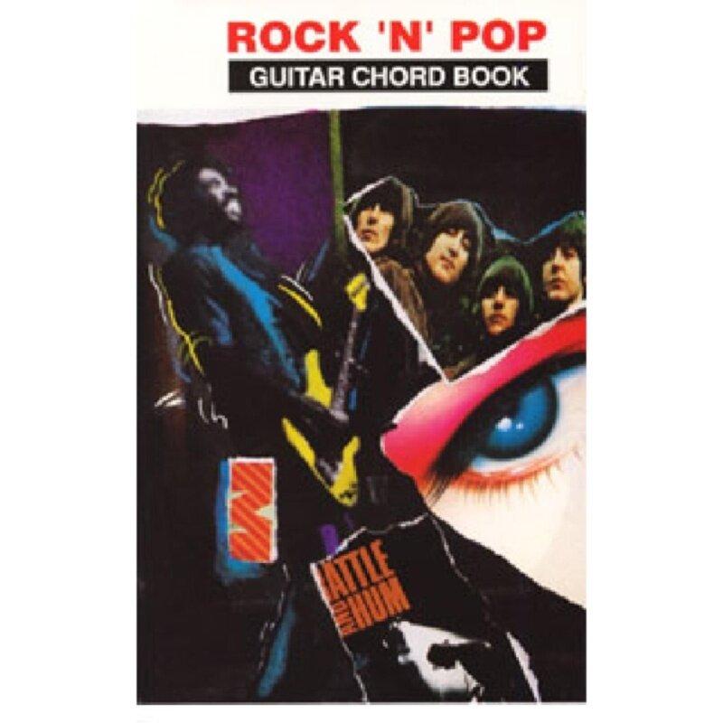 Rock N Pop Guitar Chord Book Malaysia