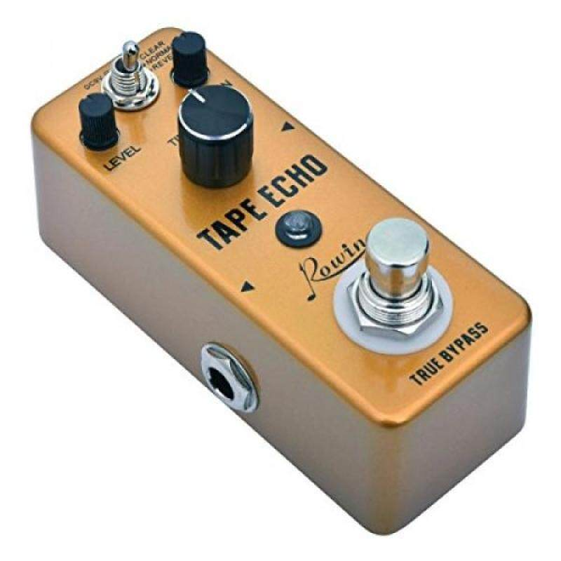Rowin Digital Tape Echo Guitar Effect Pedal 100ms-0.6s Delay True Bypass Malaysia
