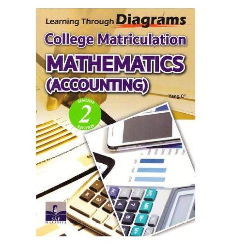 SAP Learning Through Diagrams: College Matriculation Mathematics ( Accounting) Semester 2 Malaysia