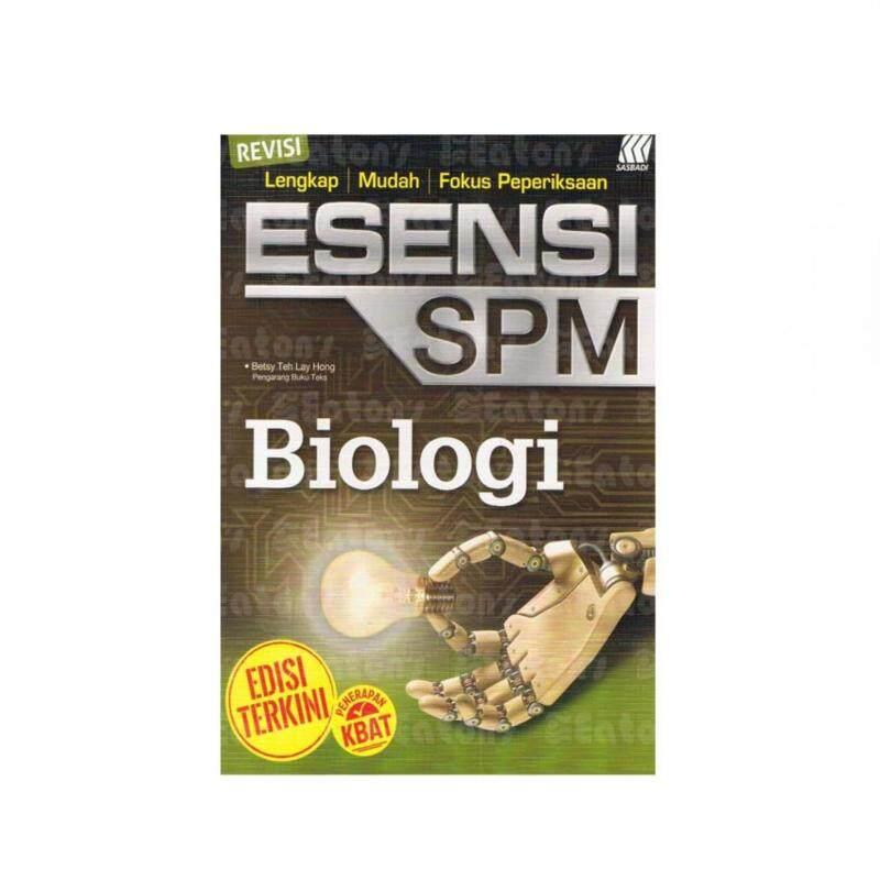 SASBADI ESENSI SPM BIOLOGY Malaysia