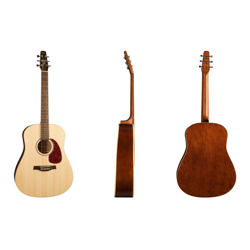 Seagull Acoustic Guitar Seagull Coastline Solid Spruce Top,Wild Cherry B&S 029532 Malaysia