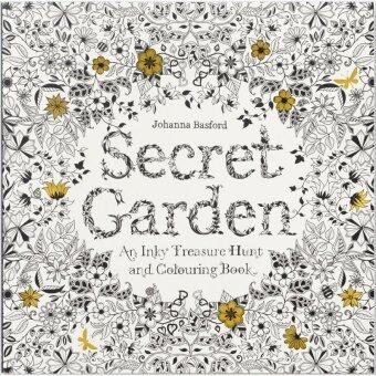 Secret Garden Coloring Book Chronicle Books