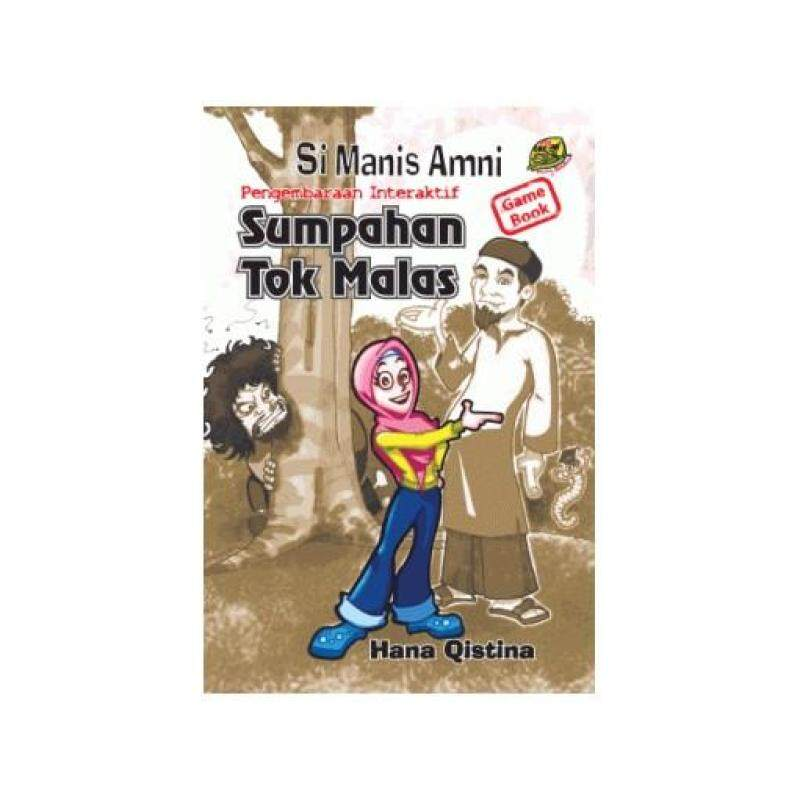 Si Manis AmniSumpahan Tok Malas (Buku permainan interaktif) 9789833654024 Malaysia