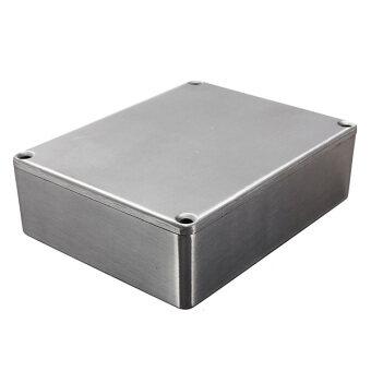 7319c1c0c9 Silver Aluminium Metal Stomp Box Case Enclosure Guitar Effect Pedal  (120x95x35 1590BB)