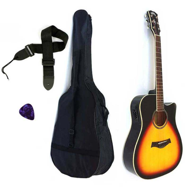 Sparow SP10Ceq Acoustic 41 Guitar Sunburst (FOC Non-Padded Bag & 1xPick) Malaysia