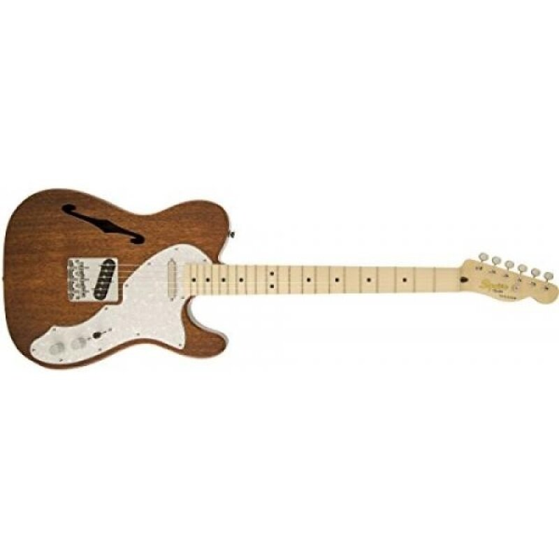 Squier by Fender Classic Vibe Thinline Telecaster Electric Guitar - Natrual - Maple Fingerboard Malaysia