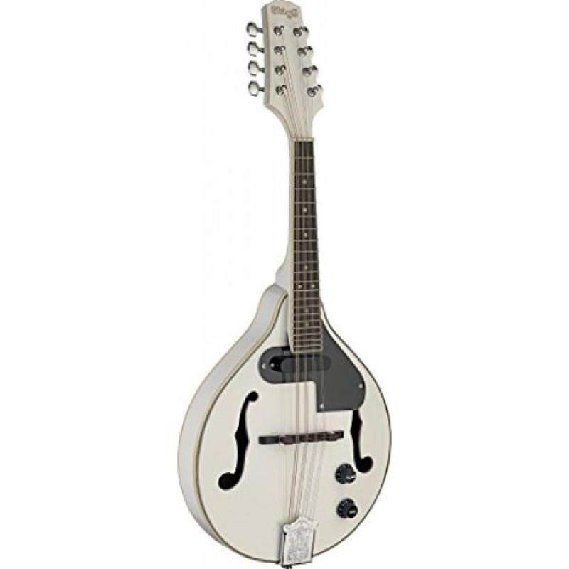 Stagg M50 E WH Acoustic-Electric Bluegrass Mandolin - White Malaysia