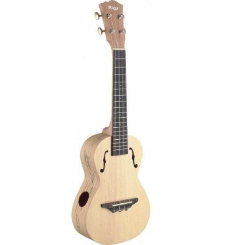 Stagg UTX-SPA-S Tenor Ukulele, Spalted Maple Malaysia