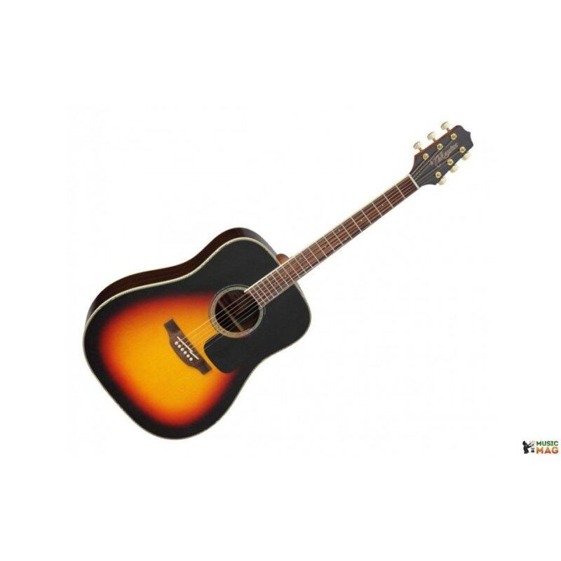 Takamine Acoustic Guitar GD51 Brown Sunburst Dreadnought, SOLID SPRUCE TOP Malaysia