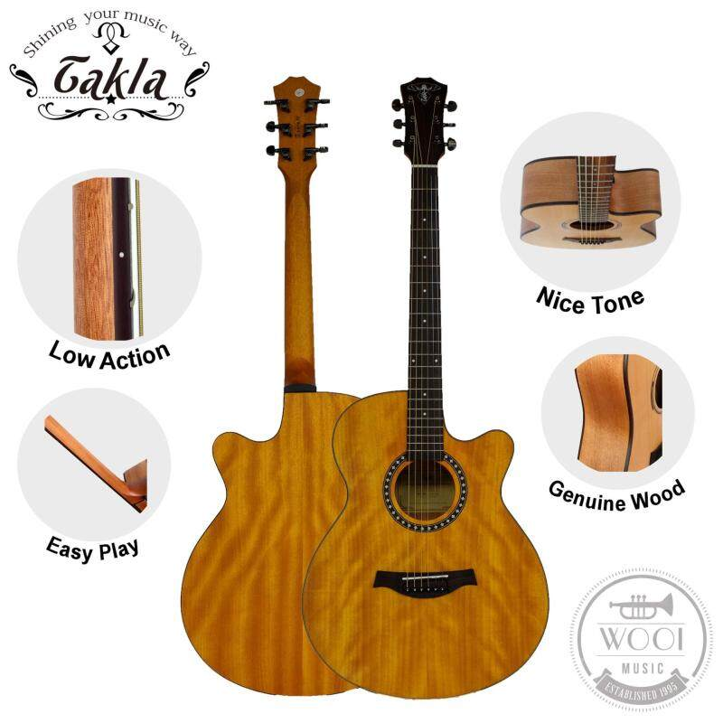 Takla M150C Acoustic Guitar 40 (Full Okoume) (Quality) Malaysia