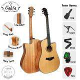 "Takla M320C Acoustic Guitar 41"" (FREE Bag, Picks, Strap, Tuner & Capo) (Dreadnought)"