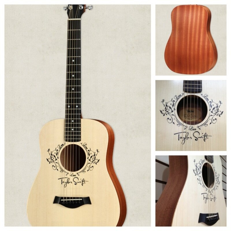 Taylor Taylor Swift Signature Baby Acoustic Guitar Natural 3/4 Size Dreadnought Malaysia
