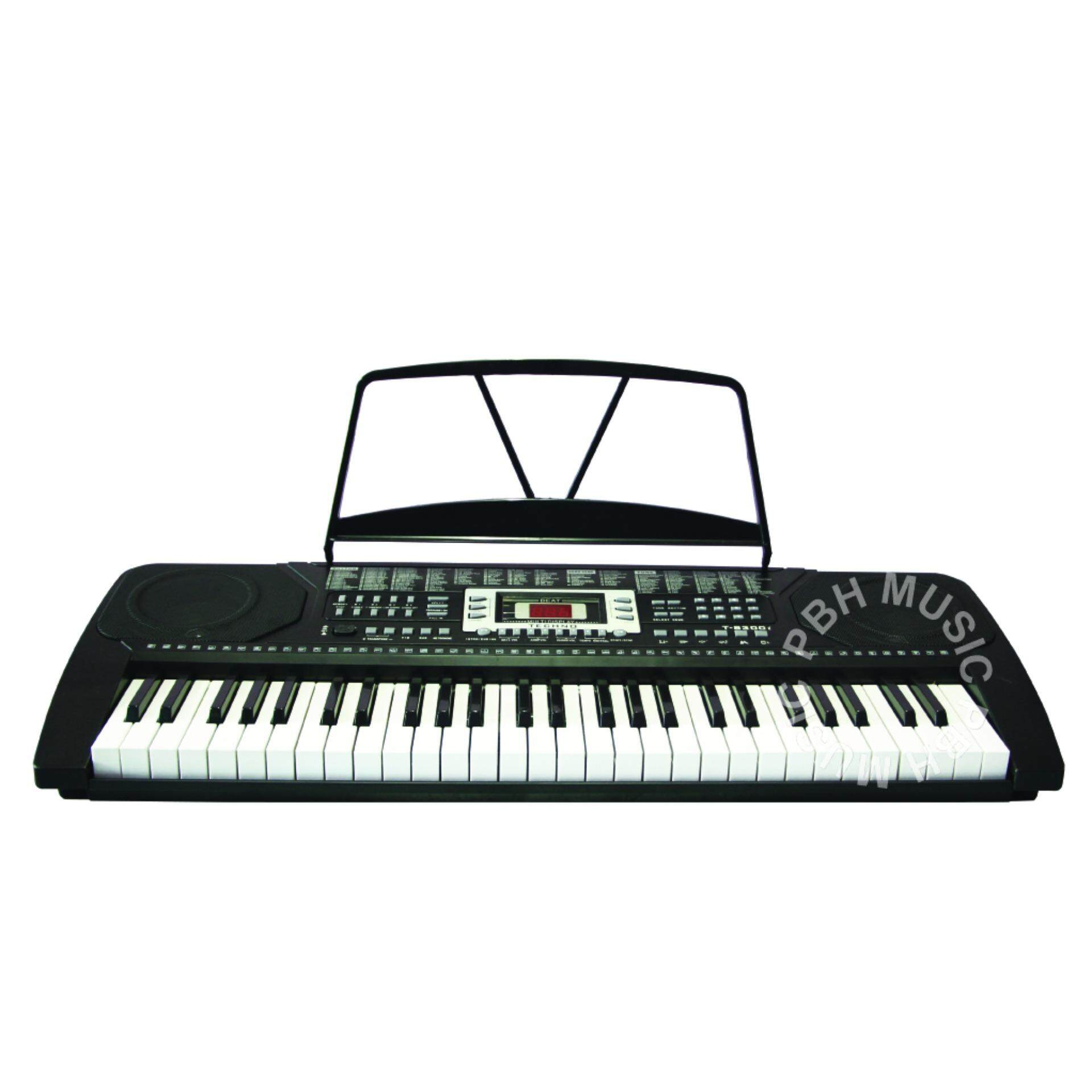 techno 54 standard full size piano key 128 rhythms and sounds music keyboard for music education. Black Bedroom Furniture Sets. Home Design Ideas