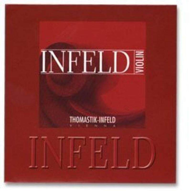 Thomastik Infeld Red 4/4 Violin String Set - Medium Gauge with Removable Ball End Gold-plated Steel E Malaysia