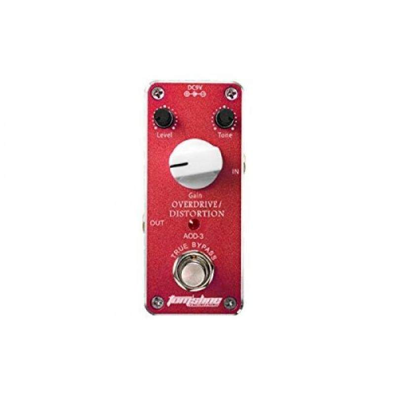 Tomsline Overdrive/Distortion True Bypass Mini Guitar Effect Pedal Malaysia