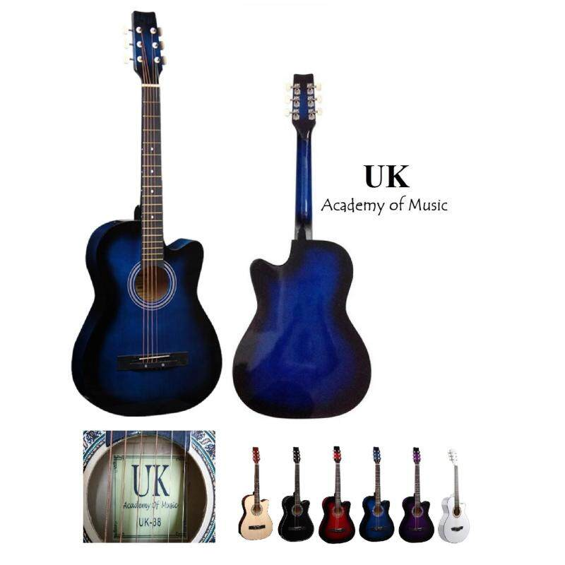 UK Acoustic Guitar 38 Inch (Blue) Malaysia