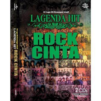 Harga Various Artists: LAGENDA HIT ROCK CINTAN