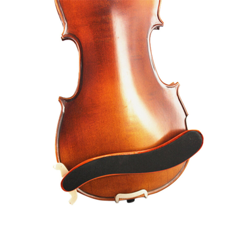 Violin Shoulder Rest Maple Wood Fit 3/4 4/4 Fiddle Violin with Cleaning Cloth Violin Parts & Accessories Malaysia