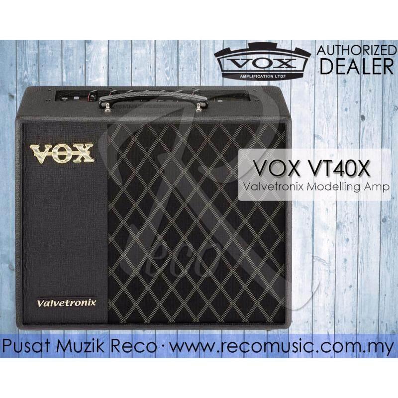 Vox VT40X 40W Modeling Guitar Combo Amplifier 1X10 VT-40X Malaysia