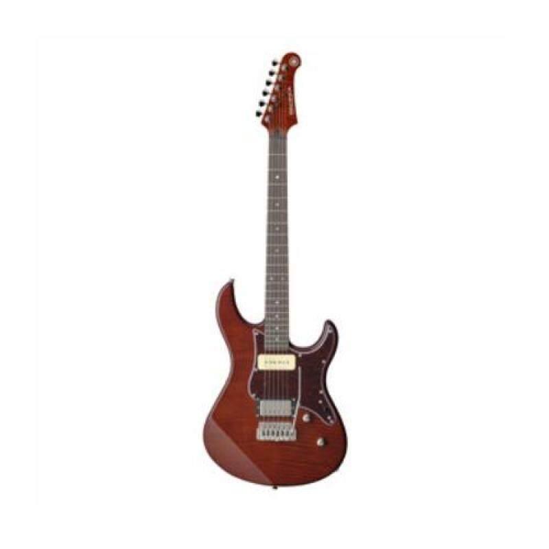 Yamaha Electric Guitar PAC611VFM RTB with FREE items Malaysia