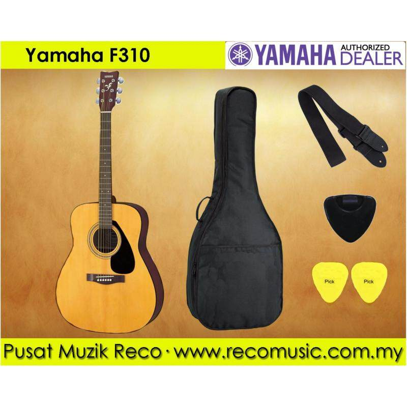 Yamaha F310 Best Beginner Acoustic Guitar Package Malaysia