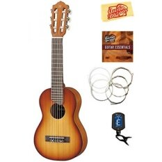 yamaha ukulele. yamaha gl1 guitalele guitar ukulele - tobacco brown sunburst bundle with eno tuner, eleca strings, austin bazaar instructional dvd, polishing cloth
