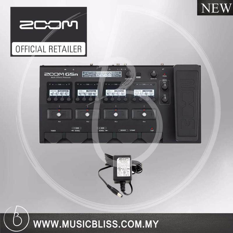Zoom G5n Multi-Effects Processor with Original Adaptor (G-5n) Malaysia