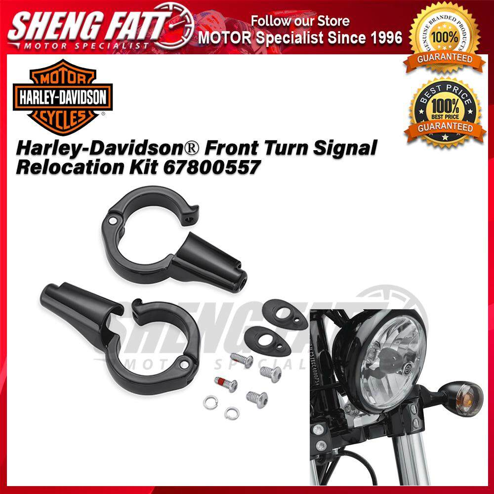 Harley-Davidson® Front Turn Signal Relocation Kit 67800557 - [ORIGINAL]