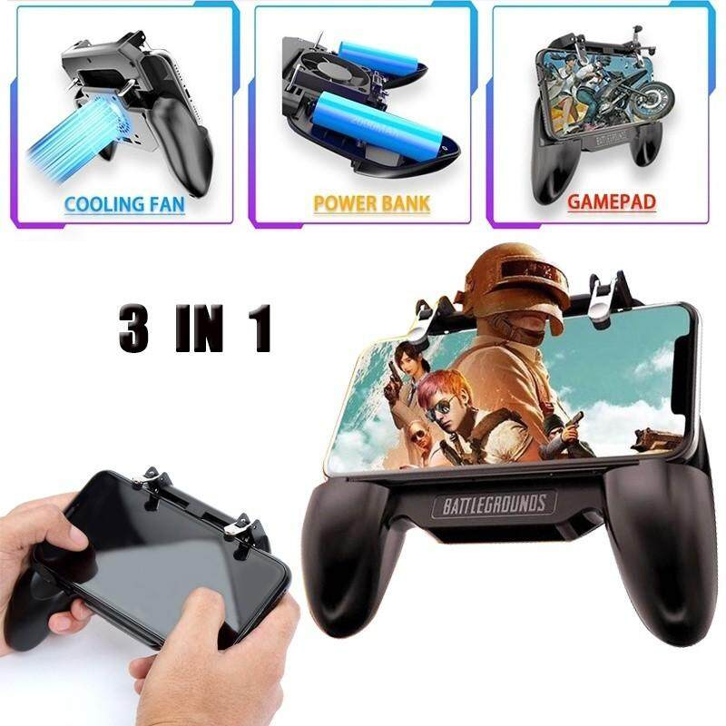 Advanced Controllers - 3 In 1 Mobile Gaming GamePad PUBG Con...